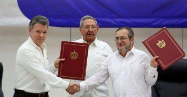 Acuerdo de cese al fuego entre el gobierno de Colombia y la FARC