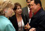 Hillary Clinton y Hugo Chavez