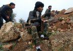 Militantes del grupo Frente al Nusra