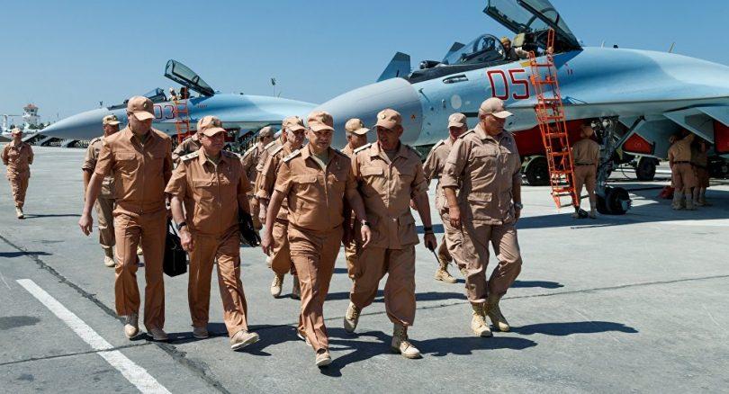Ministro de defensa ruso visita Siria