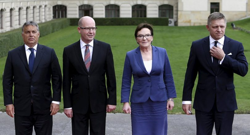 Ministros del V4