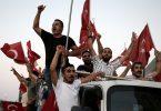 Partidarios del presidente turco, Recep Tayyip Erdogan