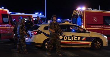 Patrulla policial de Niza