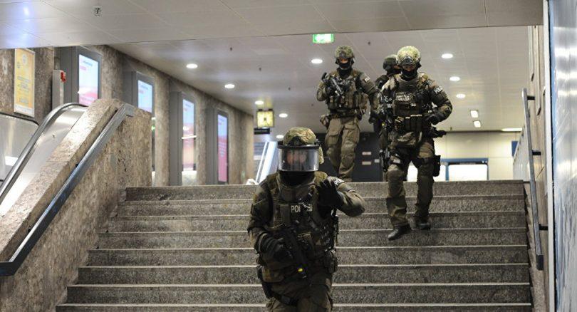Policia en tiroteo de Munich