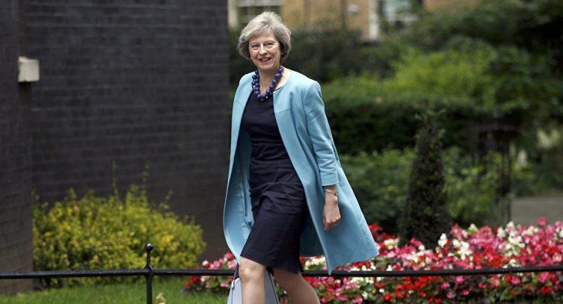 Theresa May, Primer Ministra Reino Unido