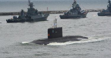 submarino de la flota del baltico
