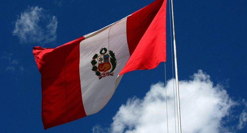 Bandera de Peru