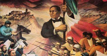 Benito Juarez en la revolucion mexicana
