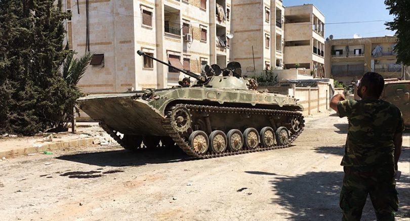 Ejercito de Siria en Alepo