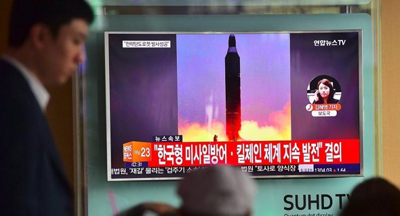 Prueba realizada por Corea del Norte