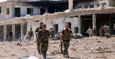 Cese al fuego en Siria